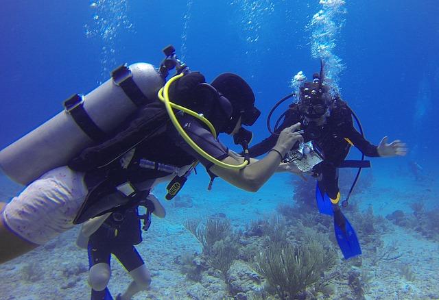 duiktechnieken gebaren