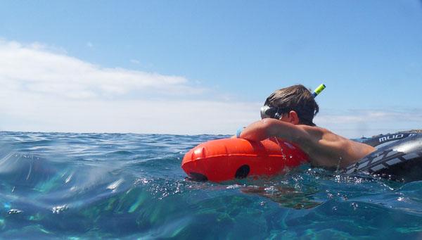 Snorkelmateriaal jonge snorkelaar