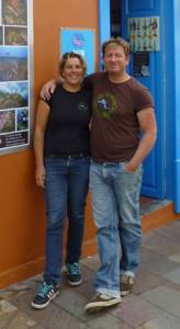Joost en Nanneke van Casa de Buceo