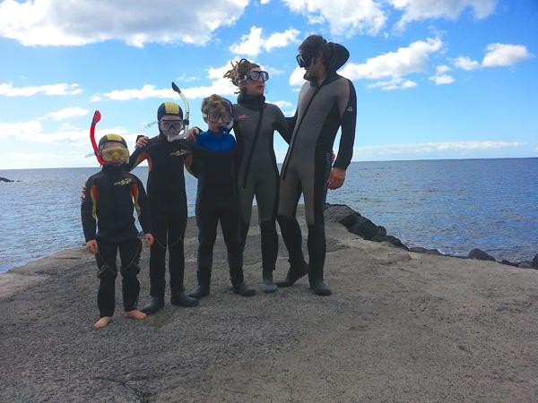 snorkeltrip gezin