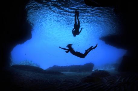 De blauwe kamer op Curaçao