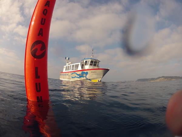duiken in Port Gros in de Middellandse Zee