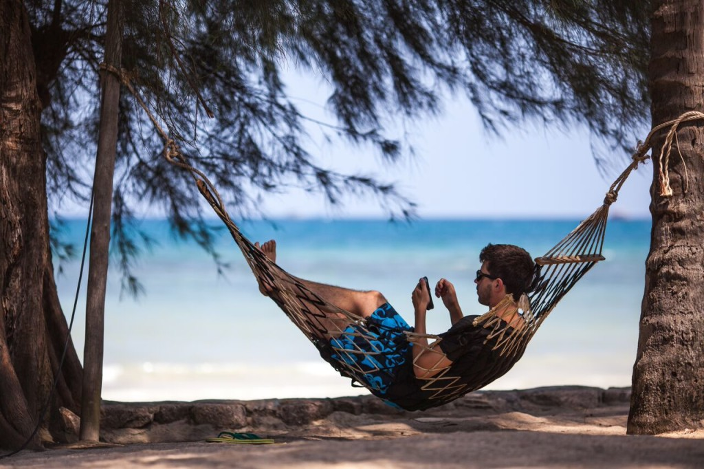 relaxen op Koh Tao