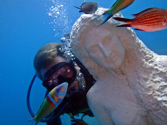 Duiken in Side: het onderwatermuseum