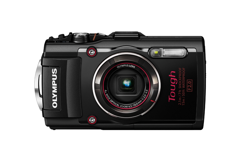digitale onderwatercamera : de Olympus Tough TG4
