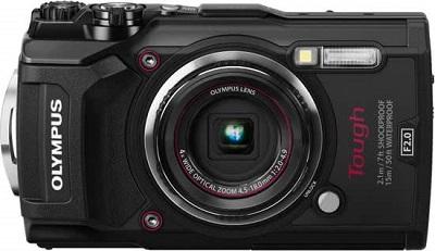 igitale onderwatercamera : de Olympus TG5