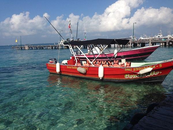 Een snorkelexcursie Isla Mujeres