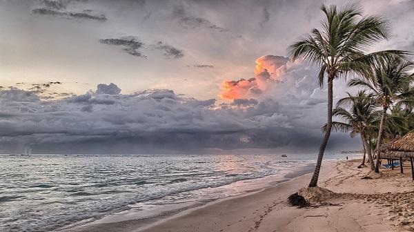 Strand bij Punta Cana