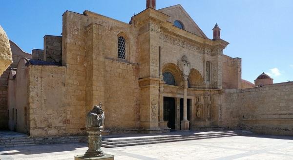 het historische centrum van Santo Domingo