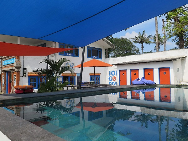 Joe's Gone Diving duikschool in Bali