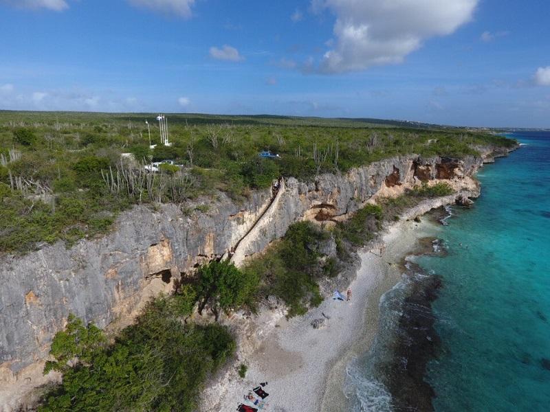 1000 steps op Bonaire
