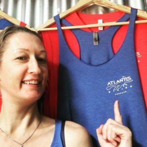 Nanda de Loos-Kint van duikschool Atlantis Diving