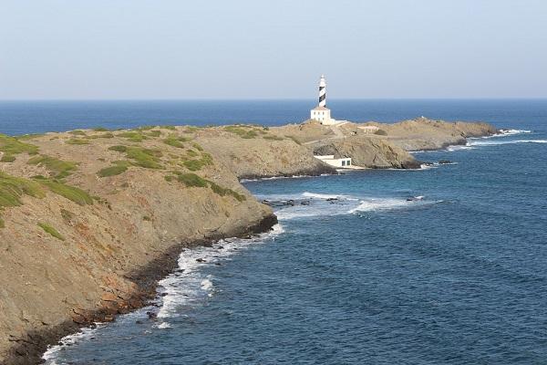 Noordelijkste puntje van Menorca: Far de Cavalleria