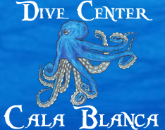 logo dive center cala blanca
