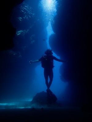 Duiken in Bocas del Toro bij het grottenstelsel bij Polo