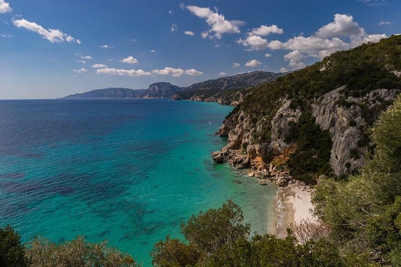 Kustlijn Corsica